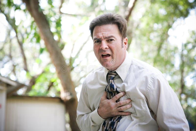 Ξαφνική επίθεση ασθένειας ή καρδιών στοκ φωτογραφίες με δικαίωμα ελεύθερης χρήσης