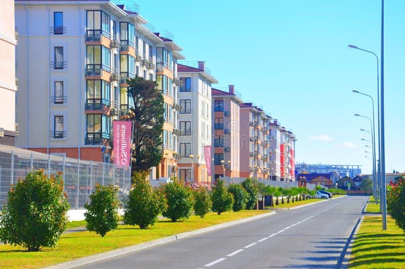 Ξενοδοχεία στο Sochi, Ρωσία στοκ εικόνα με δικαίωμα ελεύθερης χρήσης