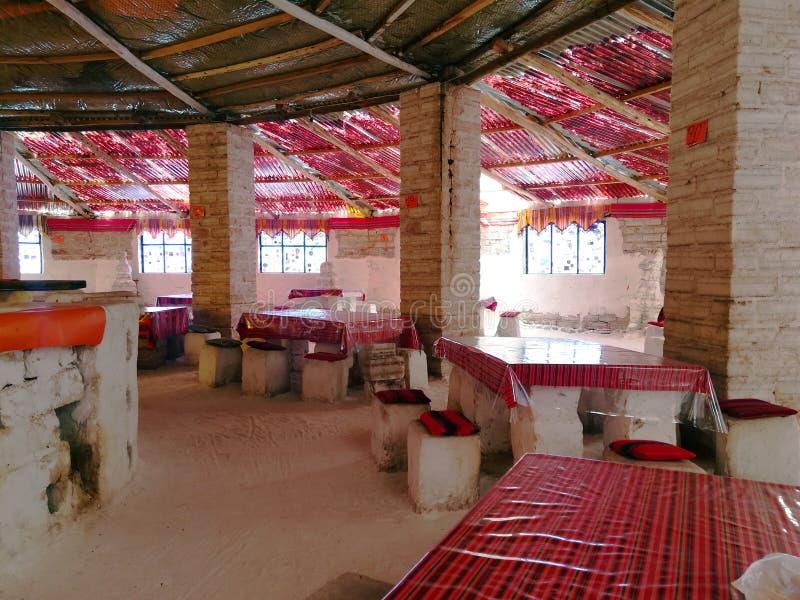 Ξενοδοχείο αλατισμένο Uyuni Βολιβία Salar στοκ φωτογραφίες