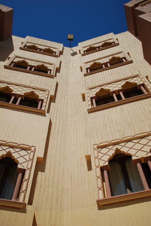 ξενοδοχείο ημερών ηλιόλ&omicr στοκ φωτογραφία με δικαίωμα ελεύθερης χρήσης