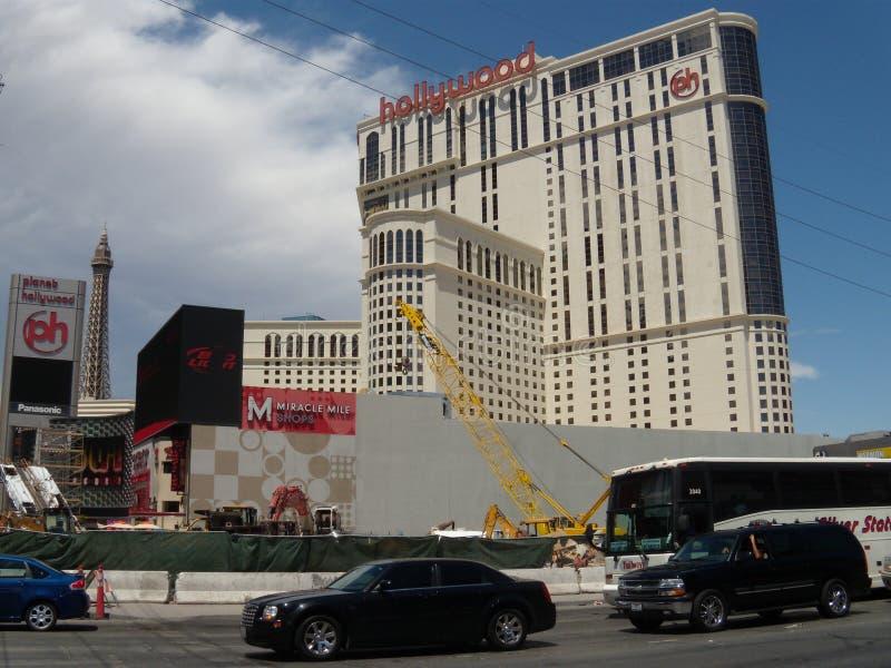 Ξενοδοχείο και χαρτοπαικτική λέσχη Hollywood πλανητών το 2009, Λας Βέγκας στοκ εικόνες