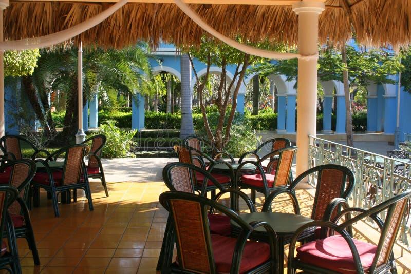 ξενοδοχείο καφέδων αέρα &al στοκ εικόνες