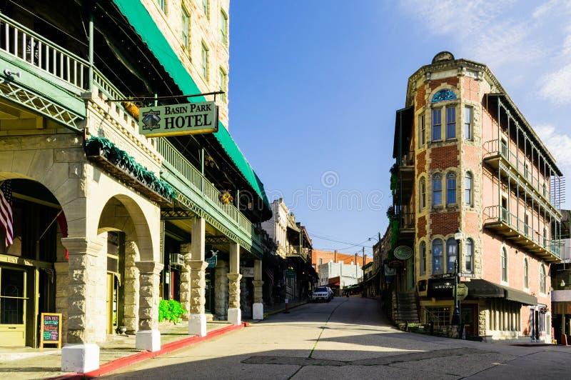 Ξενοδοχείο πάρκων λεκανών τις ιστορικές στο κέντρο της πόλης ανοίξεις του EUREKA στοκ φωτογραφία