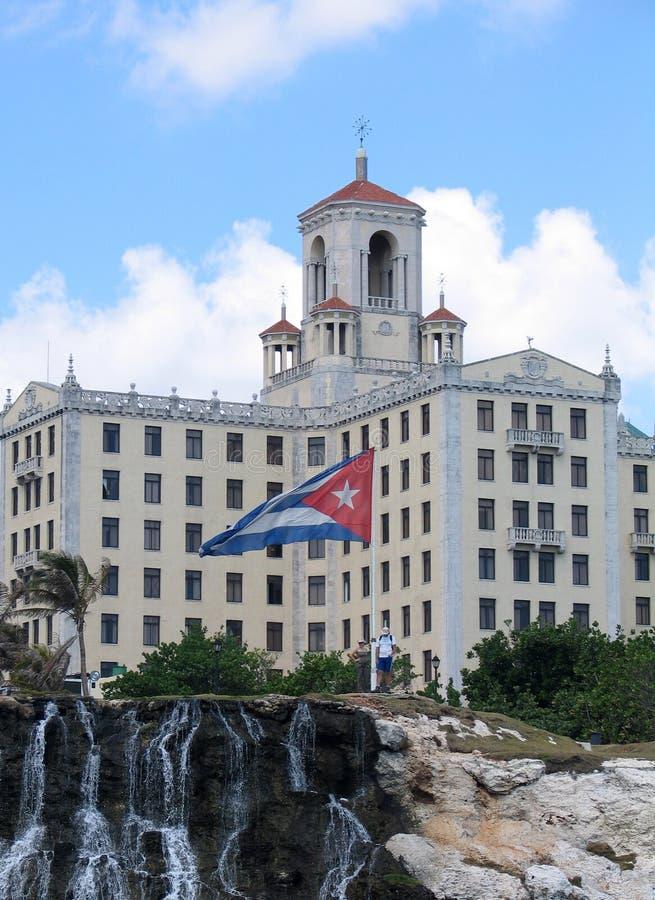 ξενοδοχείο σημαιών στοκ φωτογραφία
