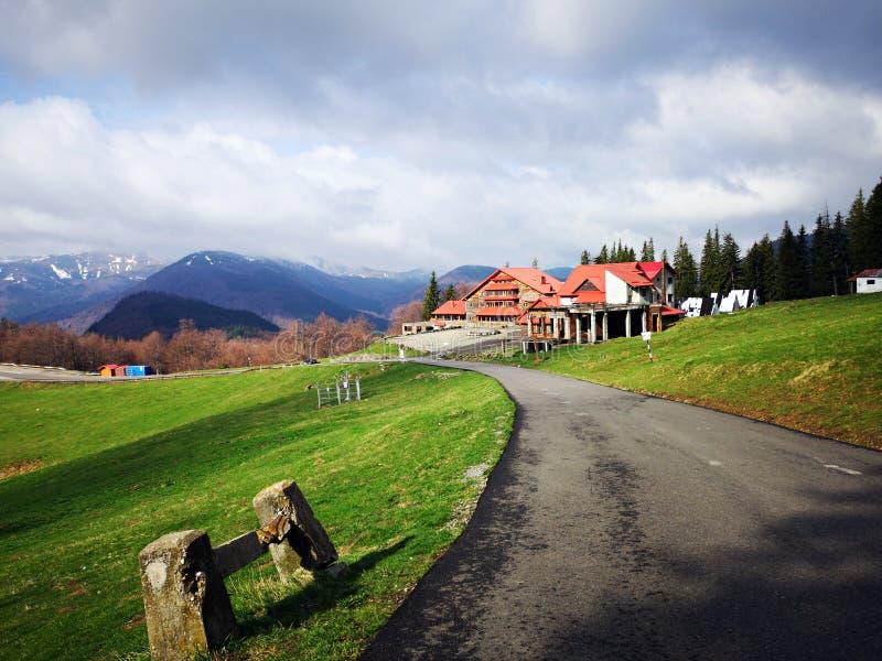 Ξενοδοχείο στα βουνά στοκ φωτογραφία με δικαίωμα ελεύθερης χρήσης