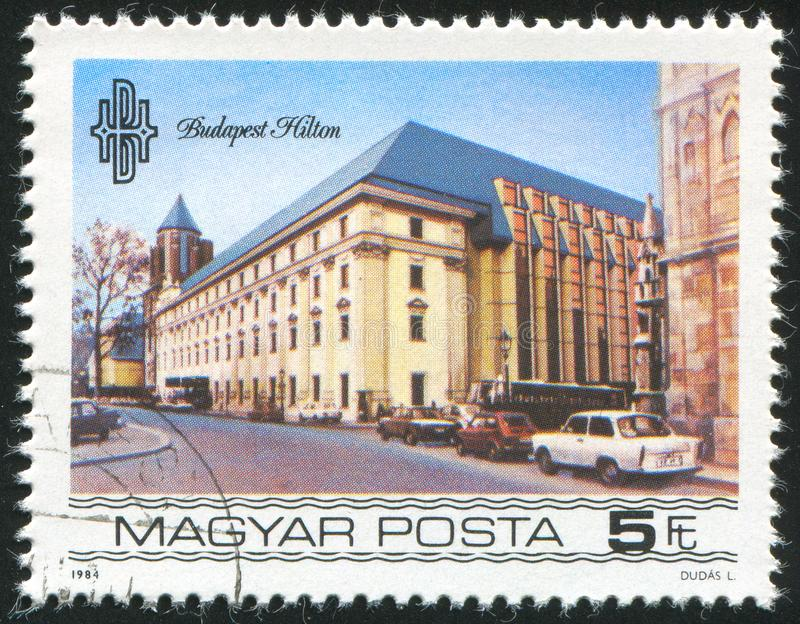 Ξενοδοχείο της Βουδαπέστης Hilton στοκ φωτογραφία