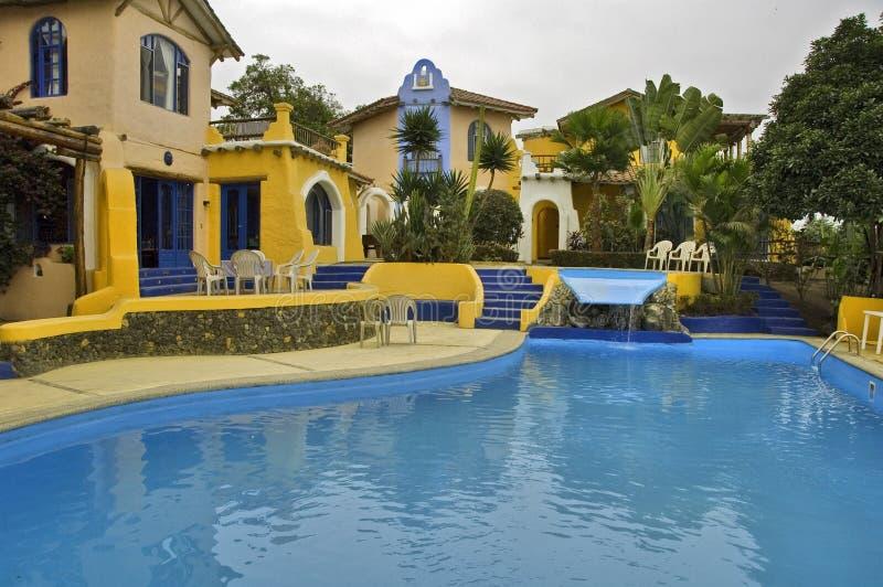 ξενοδοχείο του Ισημερινού στοκ φωτογραφία