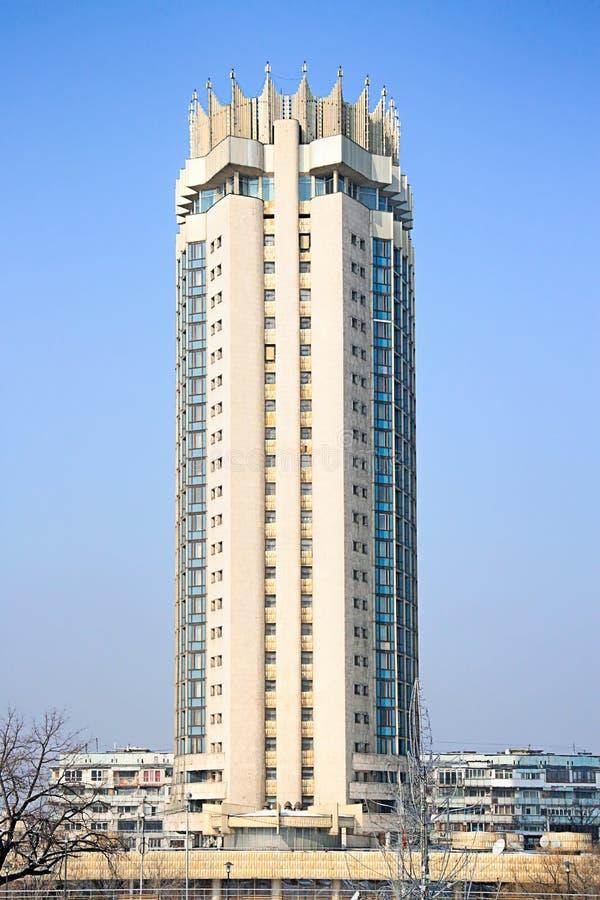 Ξενοδοχείο του Καζακστάν στο Αλμάτι, Καζακστάν στοκ εικόνες