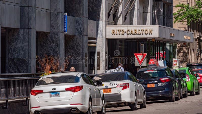 Ξενοδοχείο του Carlton Ritz στο Σικάγο - το ΣΙΚΑΓΟ, ΗΠΑ - 11 ΙΟΥΝΊΟΥ 2019 στοκ φωτογραφίες
