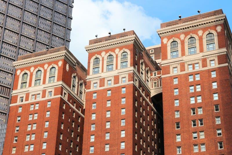 Ξενοδοχείο του William Penn Omni στοκ φωτογραφία με δικαίωμα ελεύθερης χρήσης
