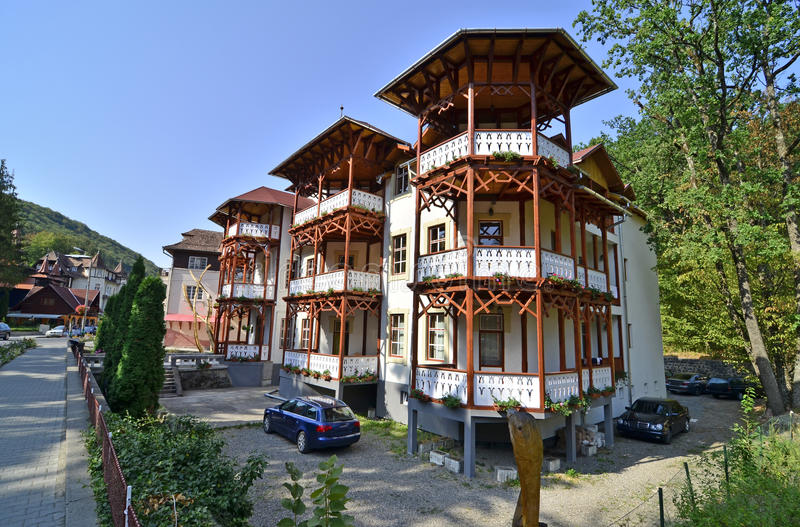 Ξενοδοχείο 2012 Sovata στοκ εικόνες