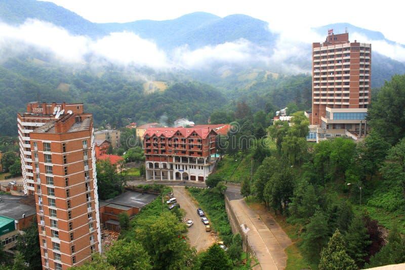 Ξενοδοχεία στοκ φωτογραφία