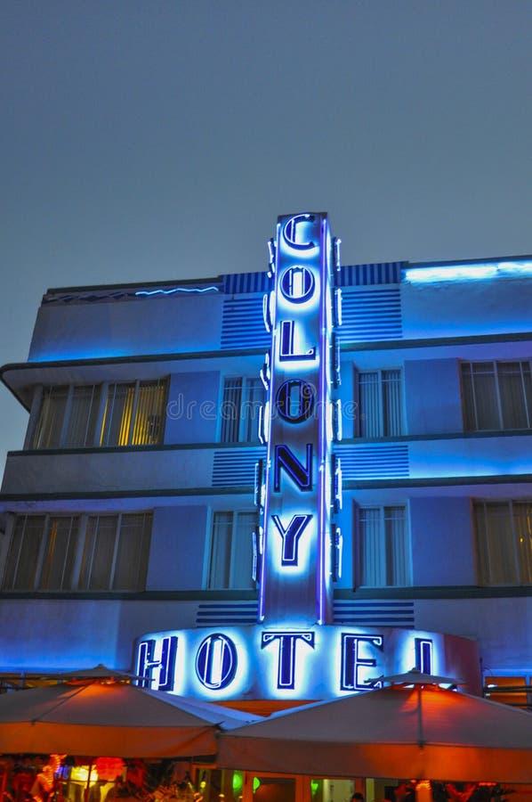 Ξενοδοχείο αποικιών στοκ εικόνες