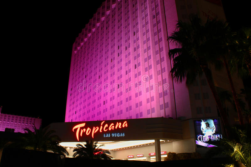 Ξενοδοχείο και θέρετρο του Λας Βέγκας Tropicana στοκ εικόνα με δικαίωμα ελεύθερης χρήσης