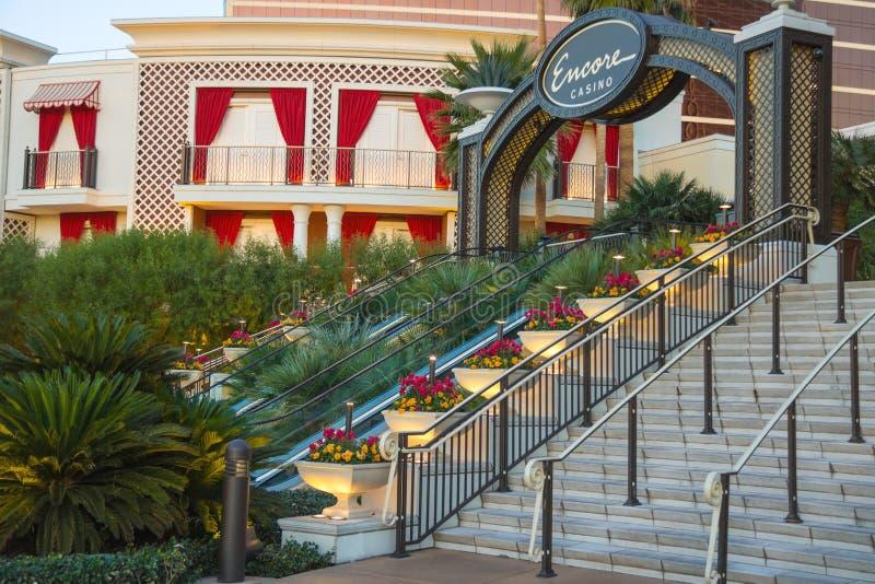 Ξενοδοχείο και χαρτοπαικτική λέσχη Encore στο Λας Βέγκας στοκ φωτογραφία