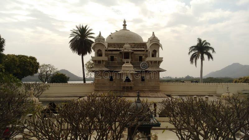 Ξενοδοχείο κληρονομιάς JagMandir Udaipur στοκ φωτογραφία