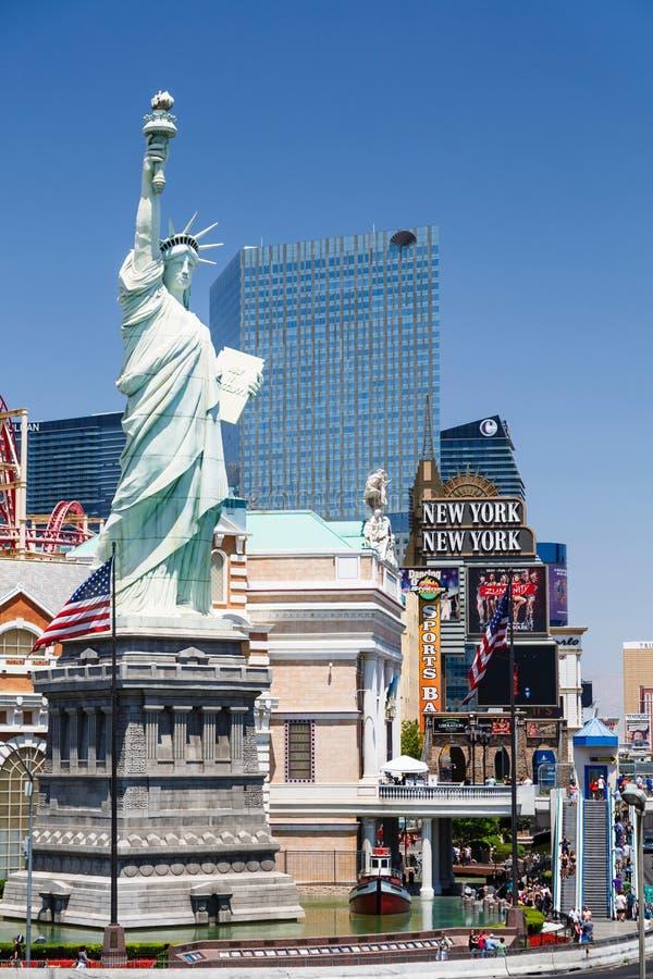 Ξενοδοχείο Λας Βέγκας της Νέας Υόρκης Νέα Υόρκη στοκ εικόνα