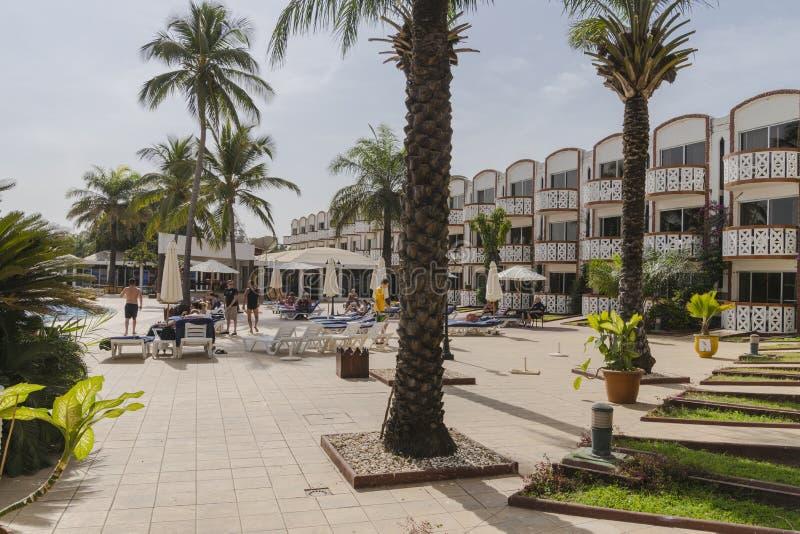 Ξενοδοχείο στη Γκάμπια στοκ εικόνα με δικαίωμα ελεύθερης χρήσης