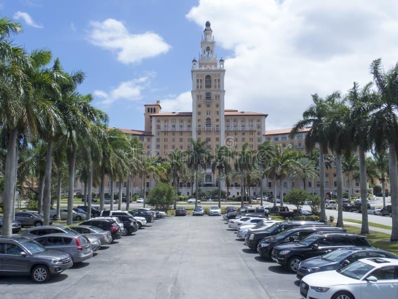 Ξενοδοχείο του Μαϊάμι Biltmore στοκ εικόνες με δικαίωμα ελεύθερης χρήσης