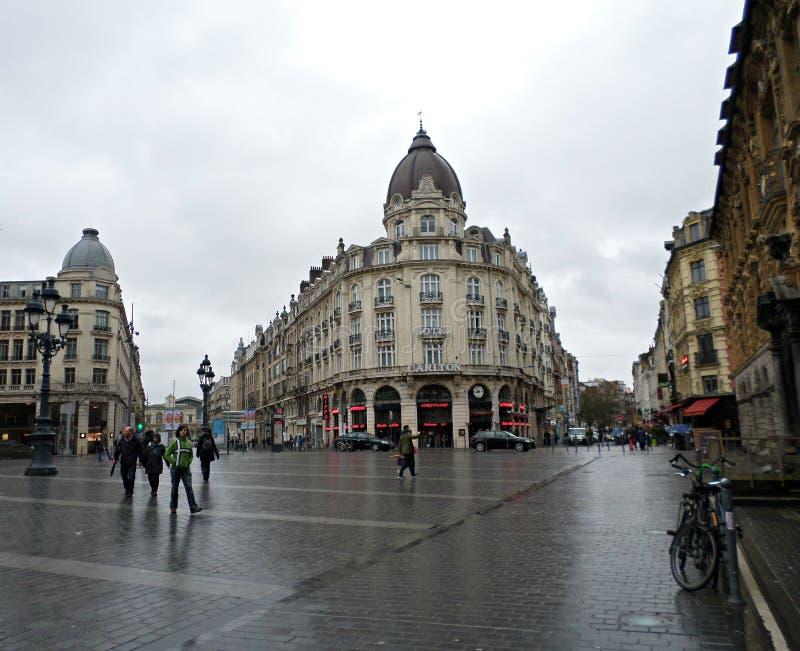 Ξενοδοχείο του Carlton στη Λίλλη, Γαλλία στοκ φωτογραφίες