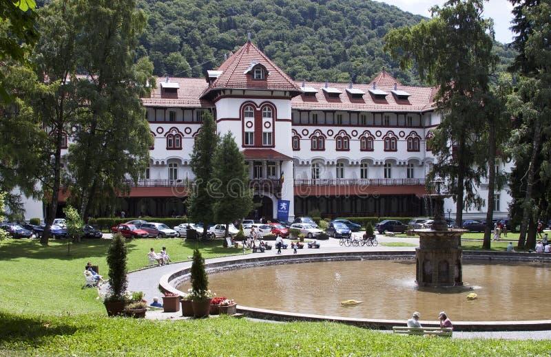 Ξενοδοχείο Caraiman στοκ φωτογραφία