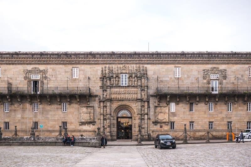 Ξενοδοχείο DOS Reis Catolicos στοκ εικόνα με δικαίωμα ελεύθερης χρήσης