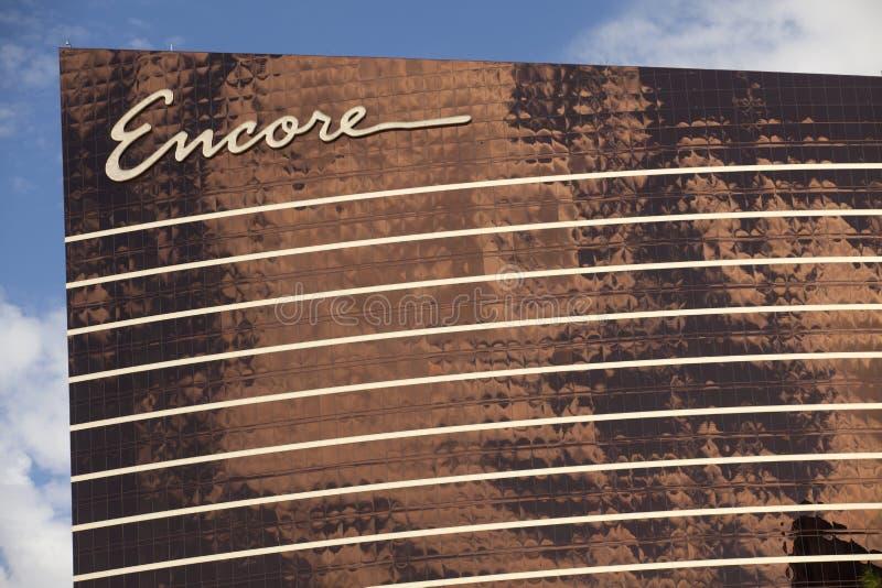 Ξενοδοχείο Encore και χαρτοπαικτική λέσχη στο Λας Βέγκας, Νεβάδα στοκ φωτογραφία με δικαίωμα ελεύθερης χρήσης