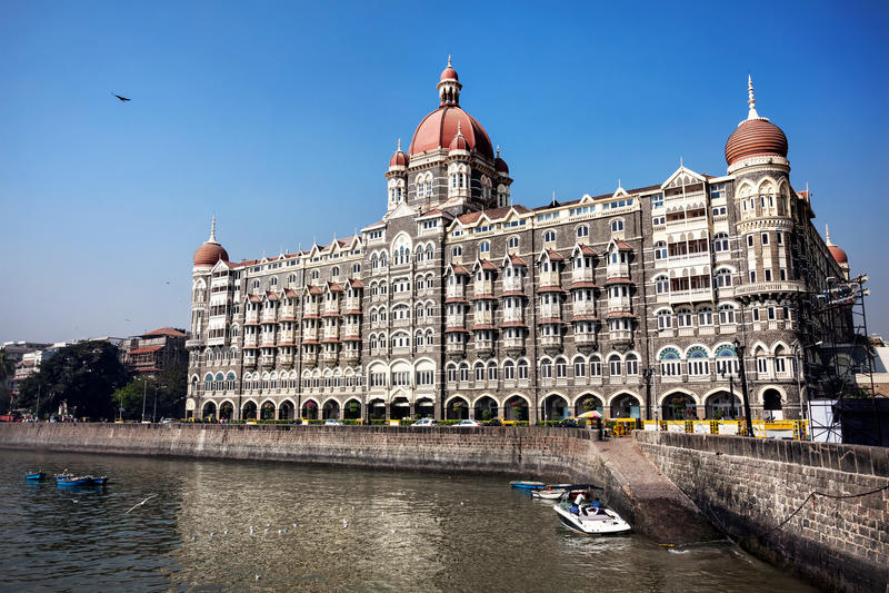 Ξενοδοχείο Mahal Taj σε Mumbai στοκ φωτογραφίες με δικαίωμα ελεύθερης χρήσης
