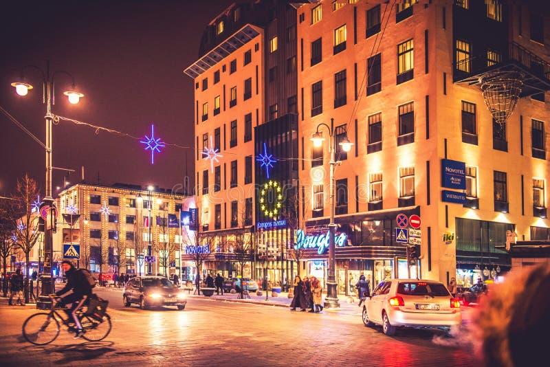 Ξενοδοχείο Novotel σε Vilnius στοκ φωτογραφία