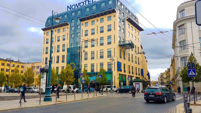 Ξενοδοχείο Novotel Vilnius στοκ φωτογραφίες με δικαίωμα ελεύθερης χρήσης