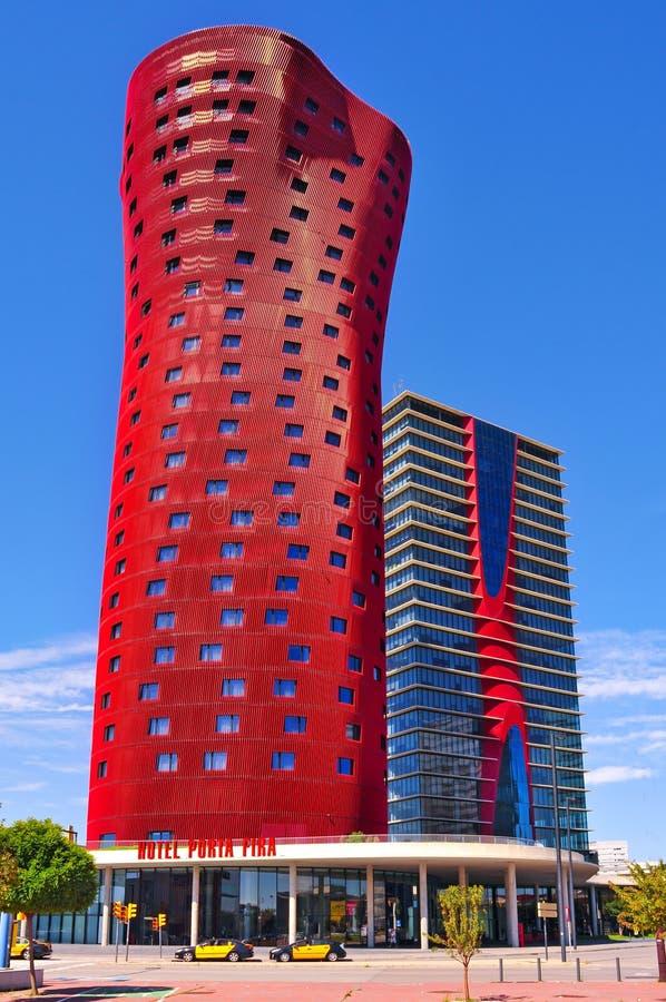 Ξενοδοχείο Porta Fira στη Βαρκελώνη, Ισπανία στοκ εικόνες