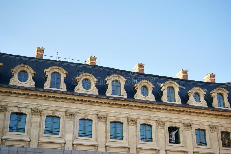 Ξενοδοχείο Ritz Παρίσι κάτω από την κατασκευή Εκδοτική εικόνα