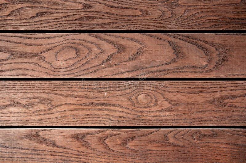 Ξεπερασμένη καφετιά χρωματισμένη ξύλινη σύσταση πινάκων στοκ εικόνες με δικαίωμα ελεύθερης χρήσης