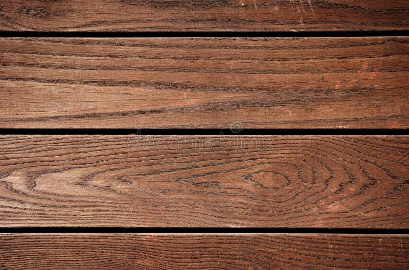 Ξεπερασμένη καφετιά χρωματισμένη ξύλινη σύσταση πινάκων στοκ φωτογραφία