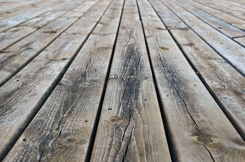 Ξεπερασμένη ξύλινη γέφυρα στοκ φωτογραφίες με δικαίωμα ελεύθερης χρήσης