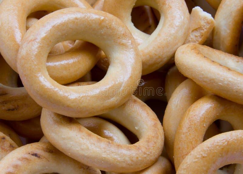 Ξεράνετε το ψωμί-δαχτυλίδι, sooshka στοκ φωτογραφίες