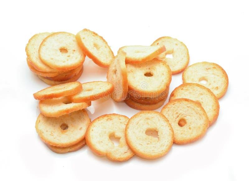 Ξεράνετε το ψωμί ρόλων στοκ εικόνες