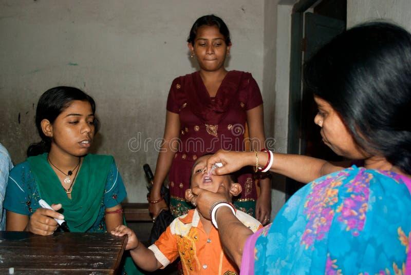 Ξεριζώστε την πολιομυελίτιδα στοκ εικόνα με δικαίωμα ελεύθερης χρήσης