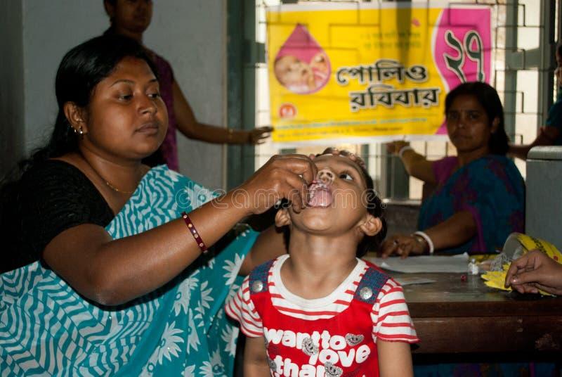 Ξεριζώστε την πολιομυελίτιδα στοκ εικόνες