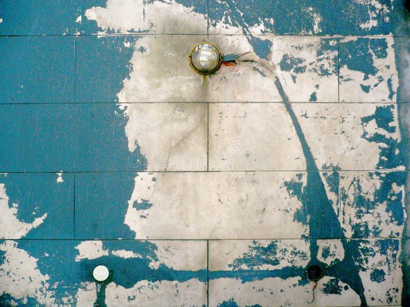 ξεφλουδισμένος τοίχος Στοκ Εικόνες