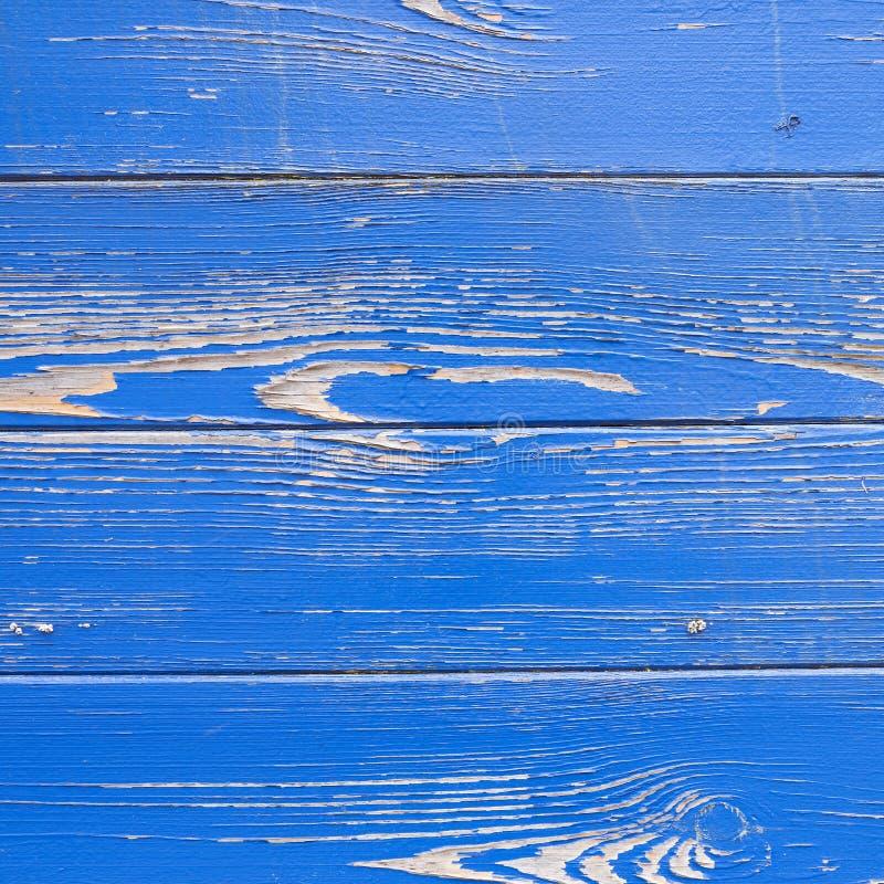 Ξεφλούδισμα του μπλε χρώματος στη φλούδα του παλαιού σκάφους στοκ φωτογραφίες με δικαίωμα ελεύθερης χρήσης