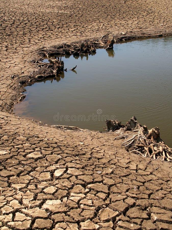 Download ξηρά λίμνη σπορείων στοκ εικόνες. εικόνα από κενός, λίμνη - 64194