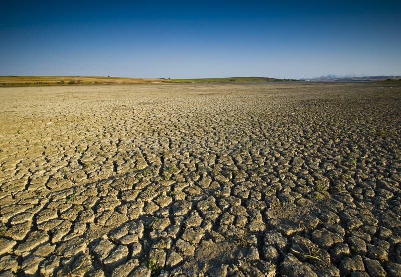 ξηρά λίμνη στοκ φωτογραφία