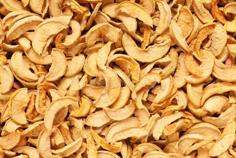 Ξηρά μήλα φετών στοκ φωτογραφίες