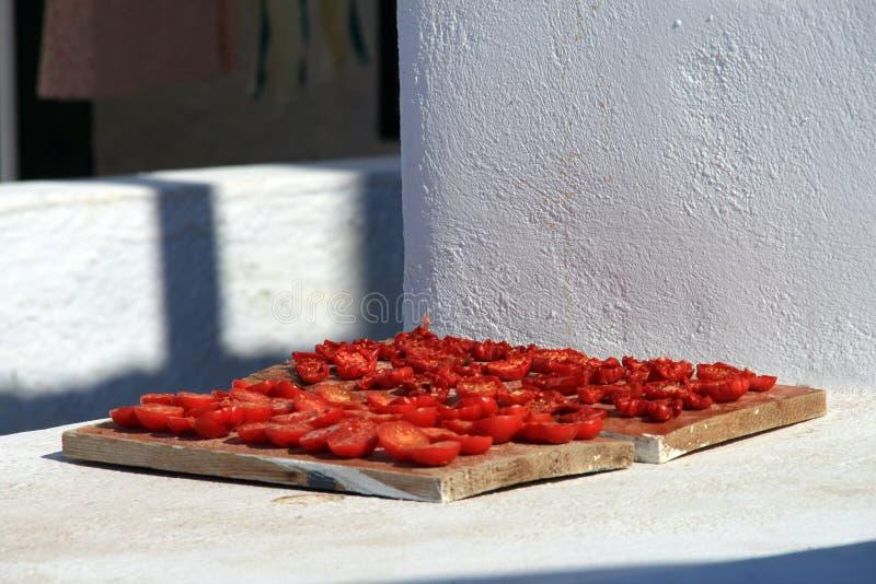 ξηρές ντομάτες ήλιων τροφίμ&ome στοκ φωτογραφίες με δικαίωμα ελεύθερης χρήσης