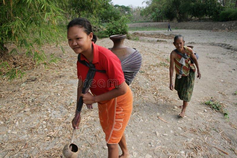 Ξηρασία στην Ινδονησία στοκ εικόνες με δικαίωμα ελεύθερης χρήσης