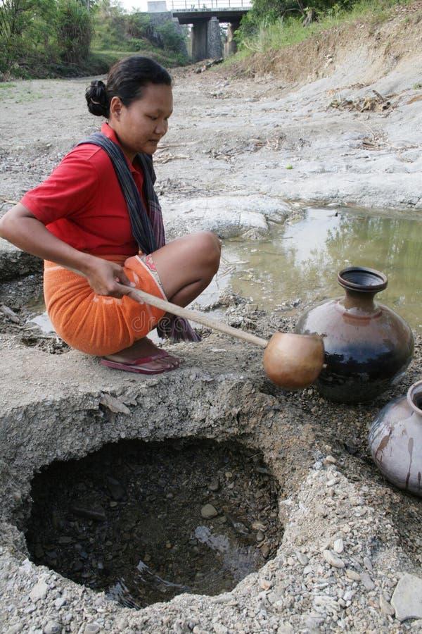 Ξηρασία στην Ινδονησία στοκ φωτογραφία με δικαίωμα ελεύθερης χρήσης