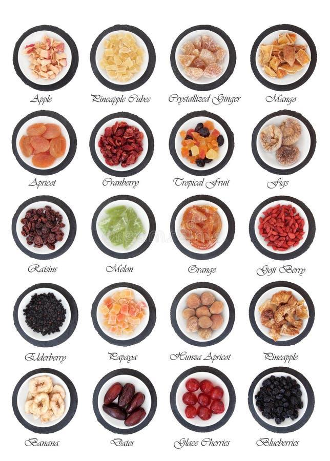 Ξηρός - δειγματοληπτική συσκευή φρούτων στοκ εικόνες