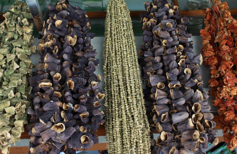 ξηρό λαχανικό στοκ φωτογραφίες