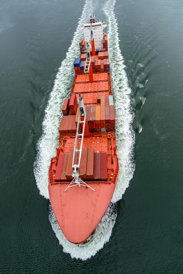 ξηρό σκάφος φορτίου στοκ εικόνες με δικαίωμα ελεύθερης χρήσης